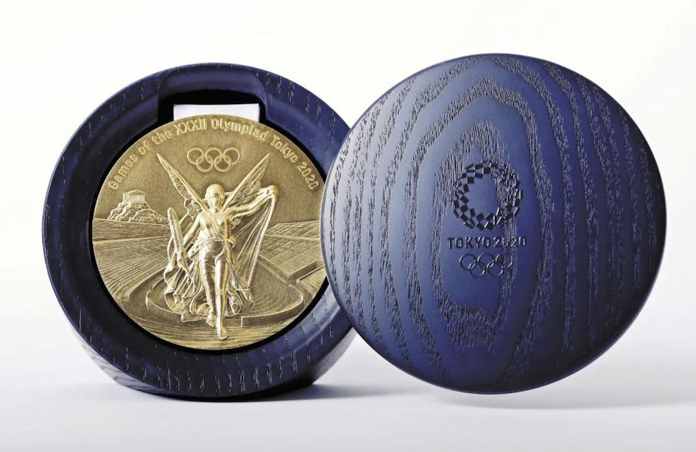 東京五輪_メダルケース